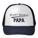 El gorra más grande de la papá del mundo