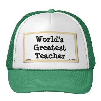El gorra más grande de Whiteboard del profesor del