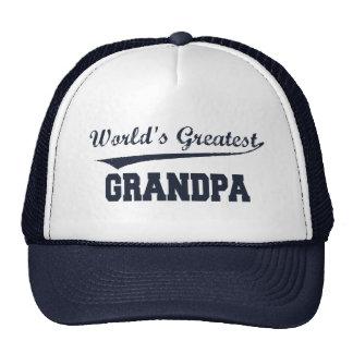 El gorra más grande del abuelo del mundo