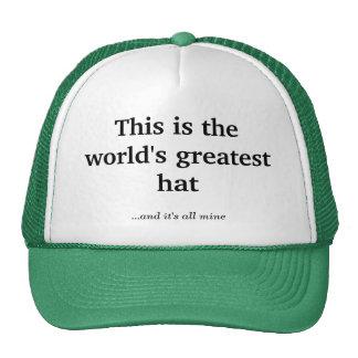 El gorra más grande del mundo