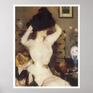 El gorra negro, 1904 póster