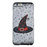 El gorra negro de la bruja protagoniza la araña funda de iPhone 6 barely there
