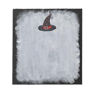 El gorra negro de la bruja protagoniza la araña li libreta para notas
