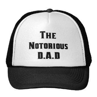 El gorra notorio de D.A.D
