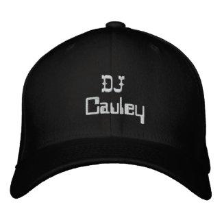 El gorra oficial de DJCAuley mejor Gorro Bordado