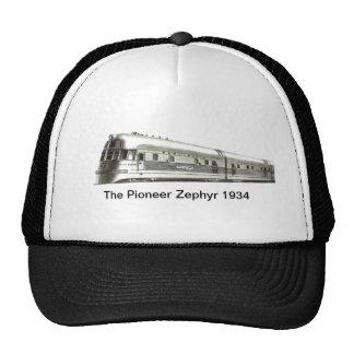 El gorra pionero 1934 del camionero del Zephyr