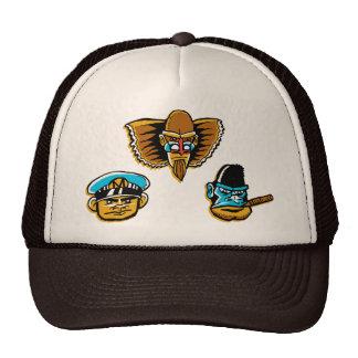 El gorra poderoso del camionero de los Mono-Hombre