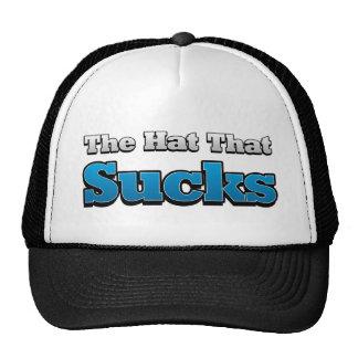 El gorra que chupa