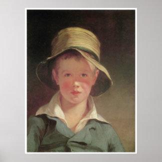 El gorra rasgado, 1820 póster