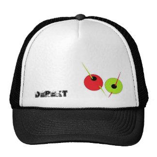 El gorra verde oliva de Derekt
