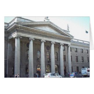 El GPO, Dublín, Irlanda Tarjeta De Felicitación