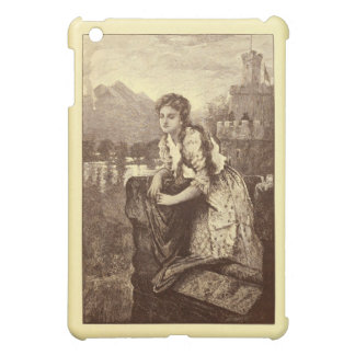 El grabado solo 1906 de la doncella