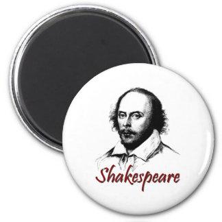 El grabar al agua fuerte de William Shakespeare Imán Redondo 5 Cm