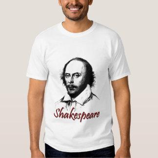 El grabar al agua fuerte de William Shakespeare Poleras