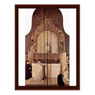 El grado de Gregory del santo. Por Hieronymus Bosc Postales