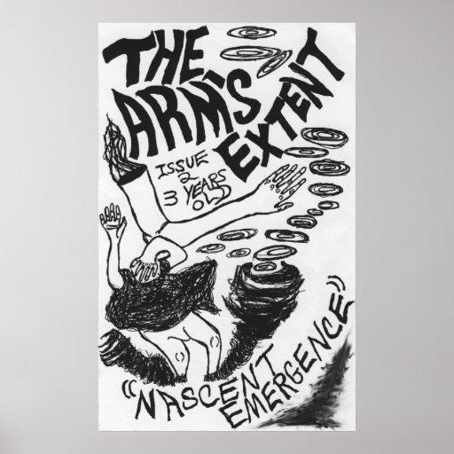 """El grado del brazo - """"aparición naciente"""" Tapezine Impresiones"""