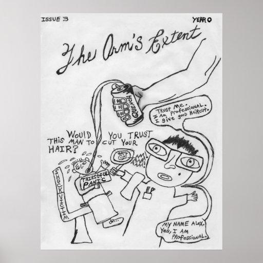 El grado del brazo - junio de 1992 poster de la cu