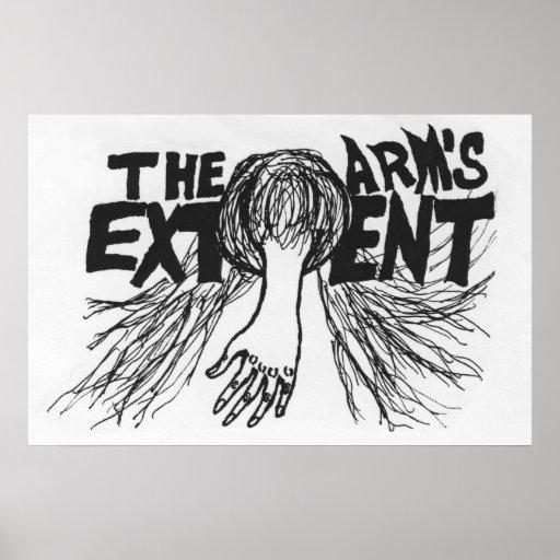 El grado del brazo - poster alternativo del logoti