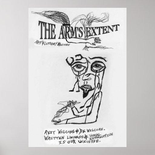 El grado del brazo - poster surrealista 1996 del l