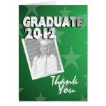 El graduado de All Star le agradece Felicitacion