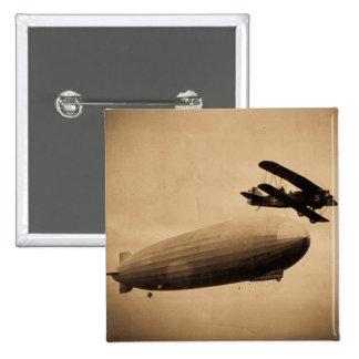 El Graf Zeppelin Approaching New York City 1928