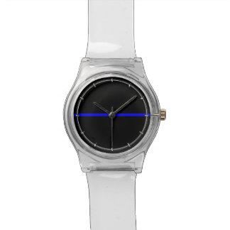 El gráfico fino simbólico de Blue Line Relojes De Mano