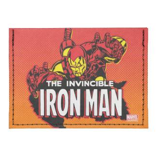 El gráfico invencible del hombre del hierro tarjeteros tyvek®