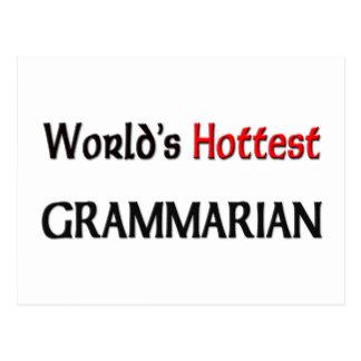 El gramático más caliente de los mundos postal