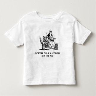 el grampa embroma el camisetas, abuelo tiene un camisas