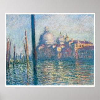 El Gran Canal, Claude Monet Poster