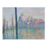 El Gran Canal de Monet Postal