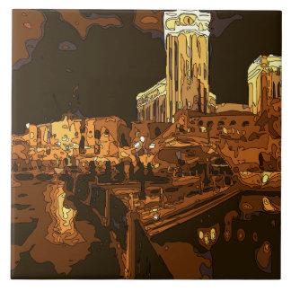 El Gran Canal en el veneciano, Las Vegas Nevada Azulejo Ceramica