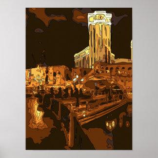 El Gran Canal en el veneciano, Las Vegas Nevada Posters