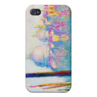 El Gran Canal en Venecia Claude Monet iPhone 4 Cárcasa