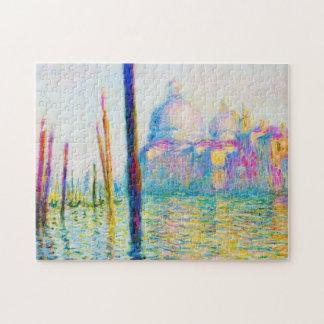 El Gran Canal en Venecia Claude Monet Puzzle Con Fotos