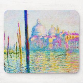 El Gran Canal en Venecia Claude Monet Tapetes De Ratones