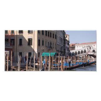 El Gran Canal en Venecia Italty Fotografía
