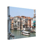 El Gran Canal Impresión En Lienzo Estirada