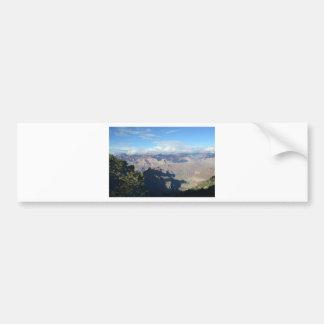 El Gran Cañón del sur del borde pasa por alto Pegatina De Parachoque