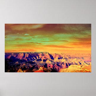 El Gran Cañón Póster