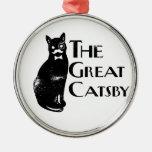 El gran Catsby Adornos De Navidad
