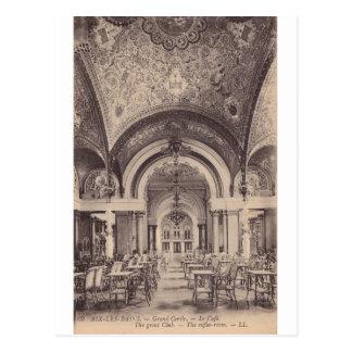 El gran club - el cuarto del café tarjetas postales