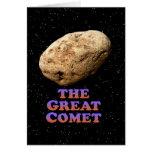 El gran cometa - básico felicitacion