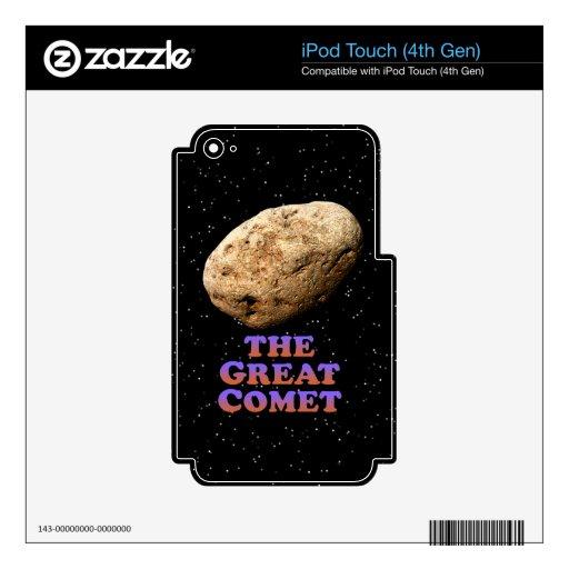El gran cometa - básico skins para iPod touch 4G