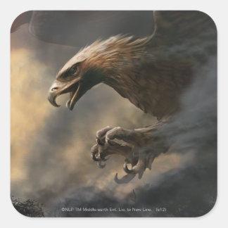 El gran concepto de Eagles Pegatina Cuadrada