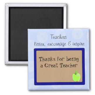 El gran decir de los profesores imán de nevera