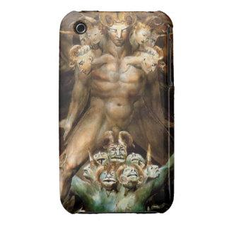 El gran dragón rojo y la bestia del mar iPhone 3 protectores