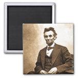 El gran Emancipator - Abe Lincoln (1865) Iman Para Frigorífico