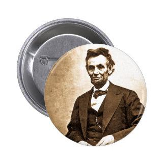 El gran Emancipator - Abe Lincoln 1865 Pins