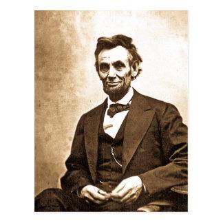 El gran Emancipator - Abe Lincoln (1865) Tarjeta Postal